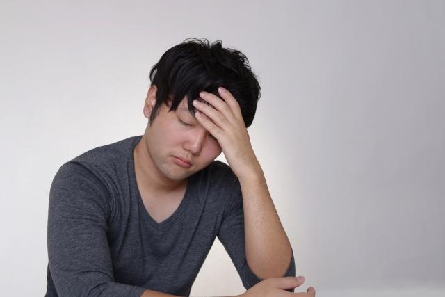慢性的な落ち込みが原因